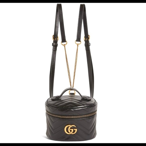 Gucci #598594 GG Marmont 2 Matellase Backpack